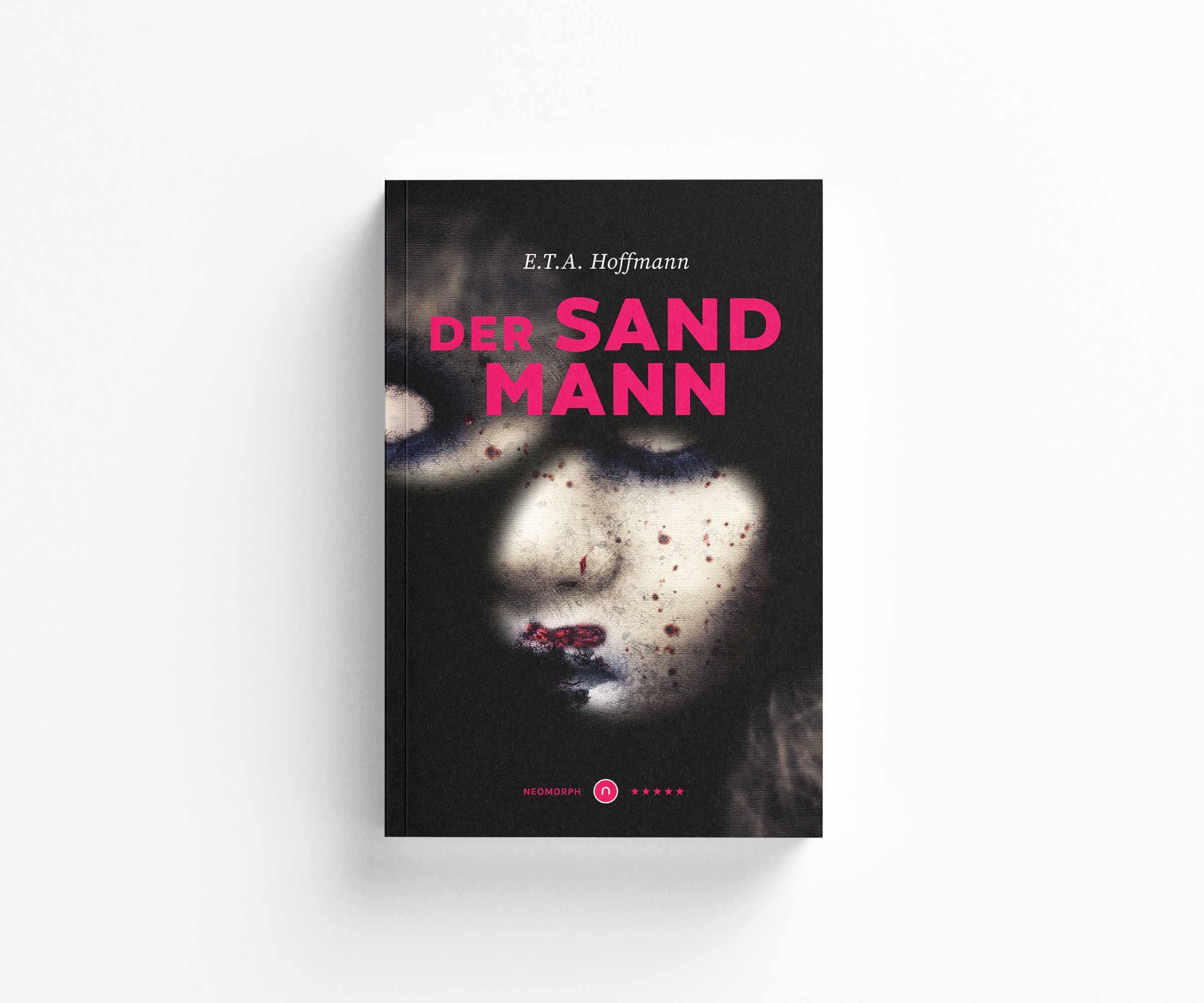 Elegant Bookcover Design: Der Sandmann [E.T.A. Hoffmann] Neomorph Design -Edition